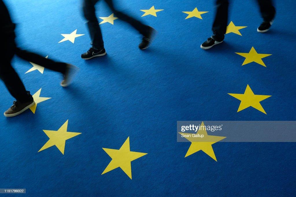 DEU: Political Parties React To European Parliamentary Election Results