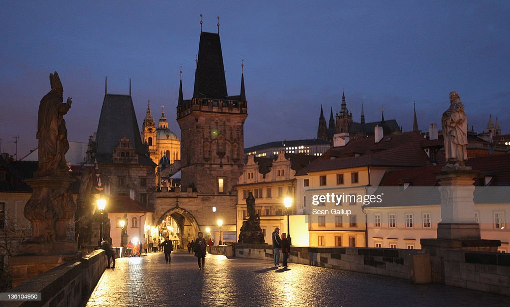 Prague Travel Destination : News Photo