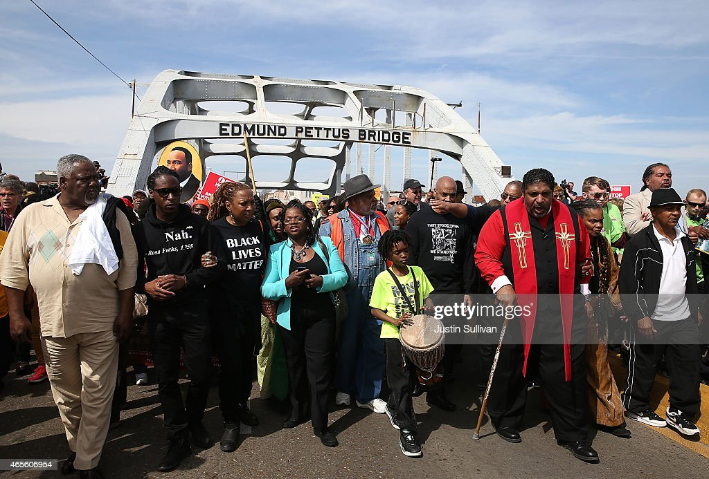 Selma Commemorates 50th Anniversary Of Historic Civil Rights March : News Photo