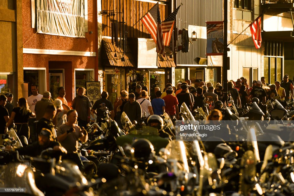 Annual Sturgis Motorcycle Rally To Be Held Amid Coronavirus Pandemic : News Photo