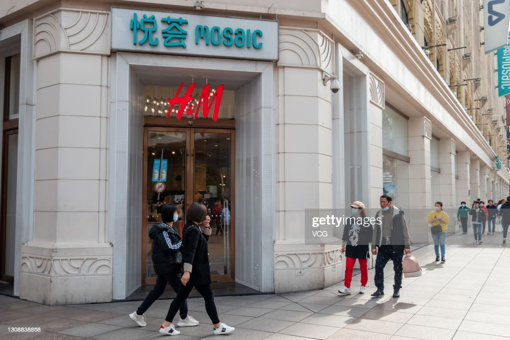 H&M Store In Shanghai : News Photo