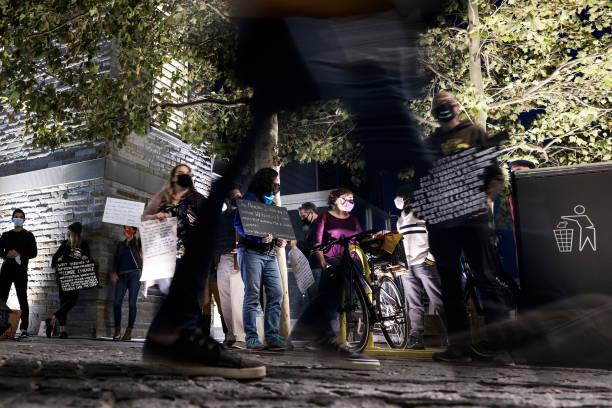 DC: Climate Activists Hold Protest Against Senator Joe Manchin