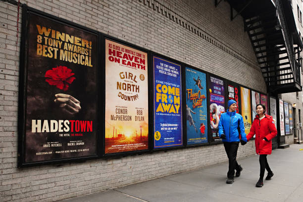 NY: Theaters Across New York City Remain Dark