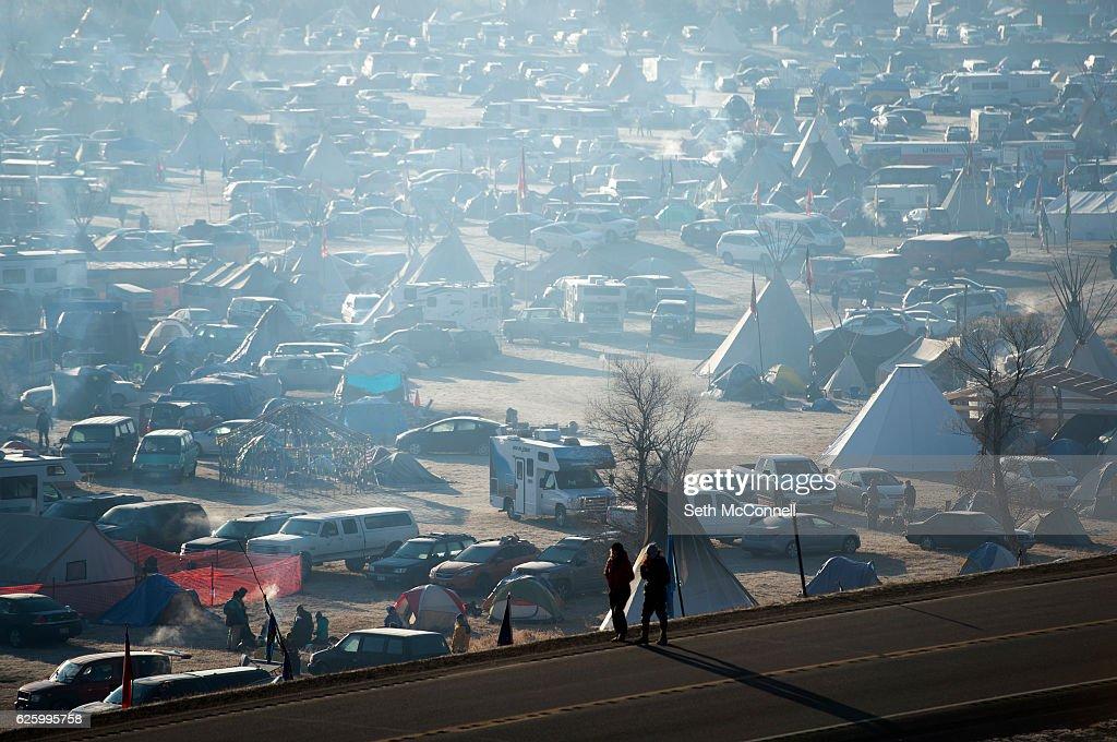 Dakota Access Pipeline Protest : Foto di attualità
