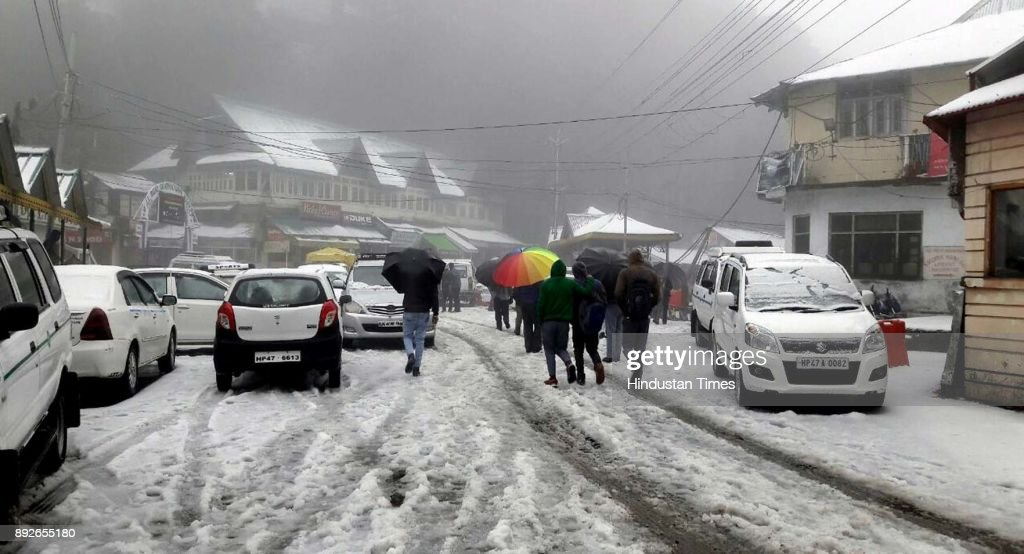 Intense Cold Conditions In Himachal Pradesh After Snowfall, Rains