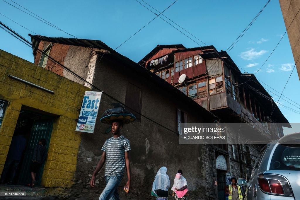 DOUNIAMAG-ETHIOPIA-ARCHITECTURE-HERITAGE-URBAN-PLANNING : News Photo