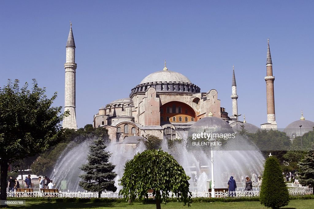 TURKEY-HAGIA SOPHIA-SEVEN WONDERS : News Photo