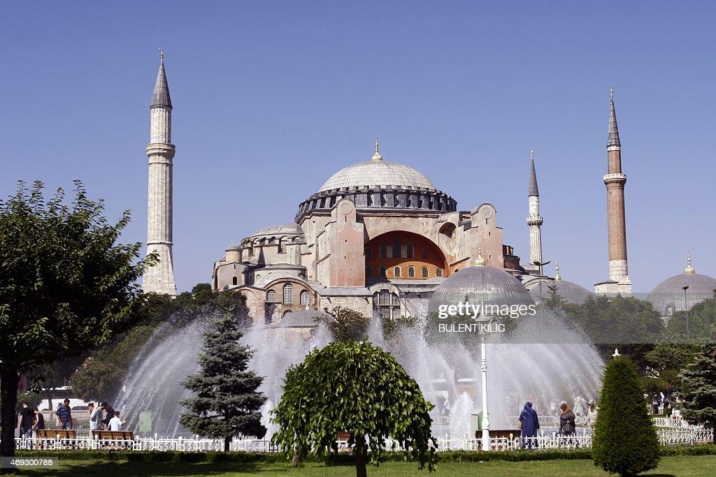 TURKEY-HAGIA SOPHIA-SEVEN WONDERS : Nieuwsfoto's