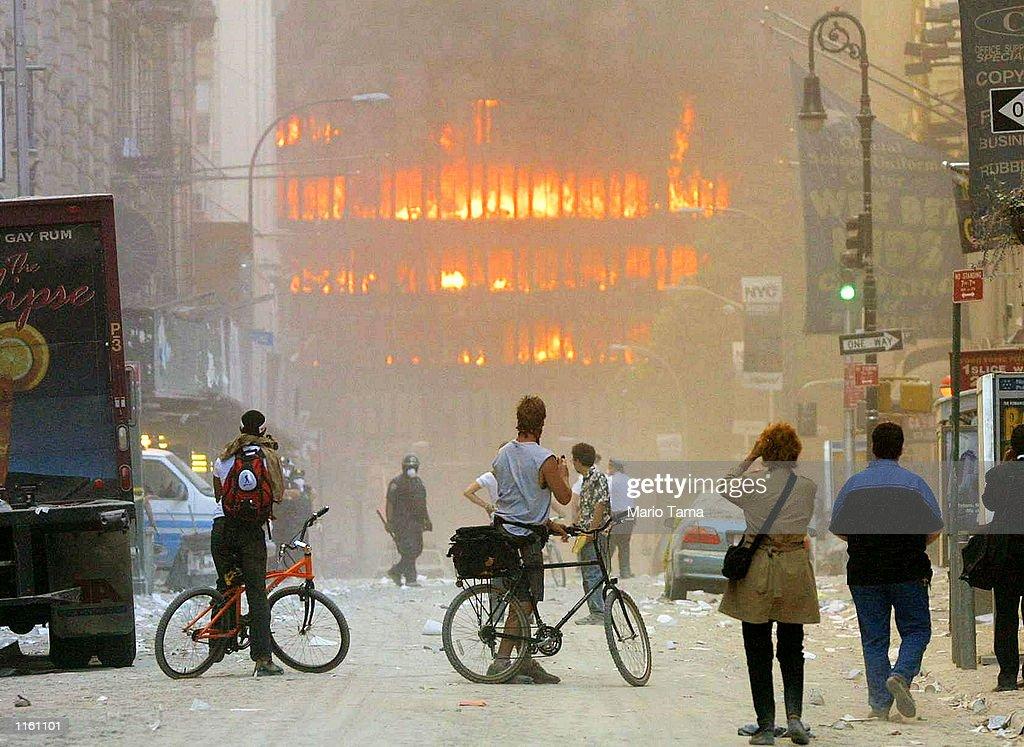 World Trade Center Attack : News Photo