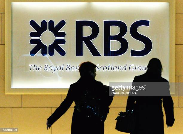 People walk into the London headquarters of the Royal Bank of Scotland on January 19 2009 Royal Bank of Scotland majorityowned by the taxpayer said...