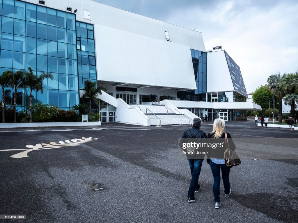 Cannes Film Festival Venues Amid The Cancellation Of The Event : ニュース写真