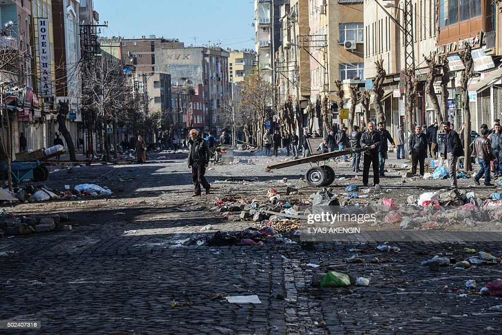 TURKEY-KURDS-UNREST : News Photo