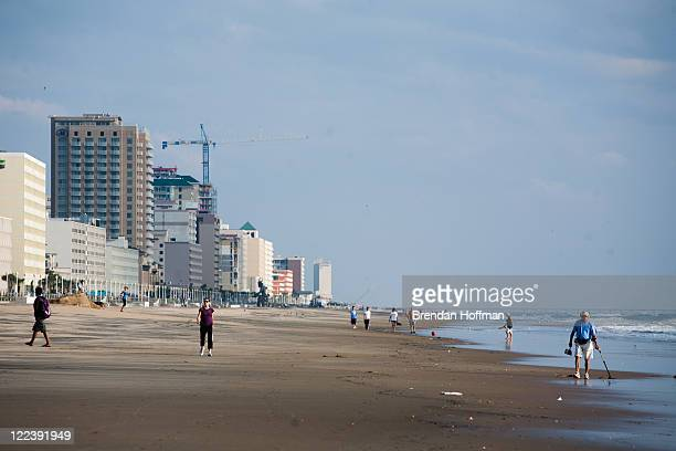 Virginia Beach Hit By Hurricane Irene