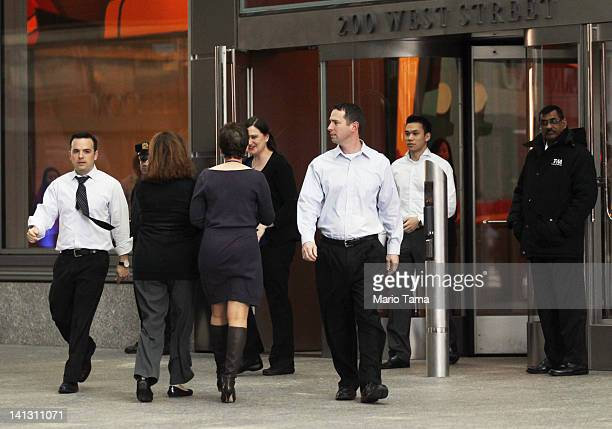People walk out of Goldman Sachs headquarters on March 14 2012 in New York City Former Goldman Sachs executive director Greg Smith wrote a scathing...