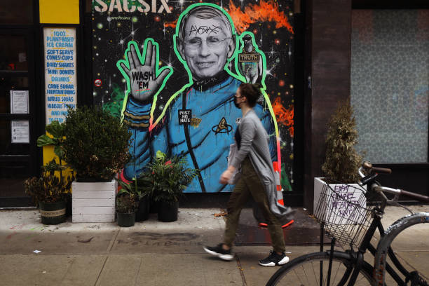 NY: Mural Of NIAID Director Anthony Fauci Painted In Manhattan's East Village
