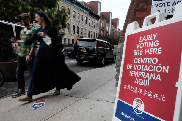 NY: Early Voting Begins In New York