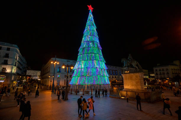 ESP: Christmas And New Year Illuminations In Madrid