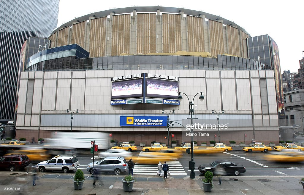 People Walk Past Madison Square Garden Owned By Cablevision May 12 2008 In  New York City
