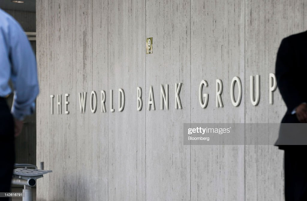The World Bank Headquarters : News Photo