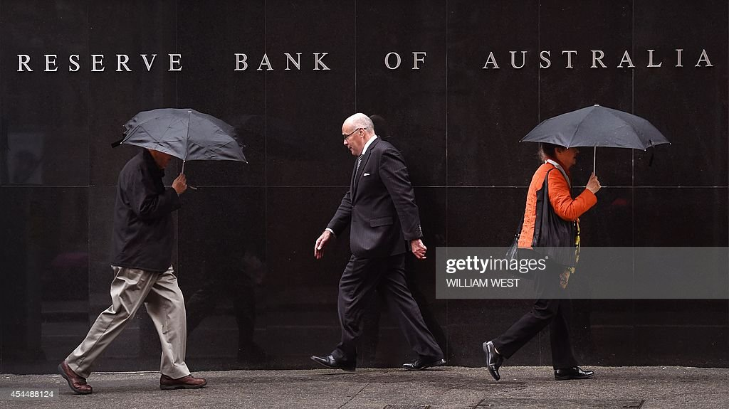 AUSTRALIA-ECONOMY-RATE-BANK-FOREX-CURRENCY : News Photo