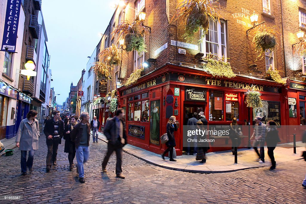 Tourism In Dublin : News Photo