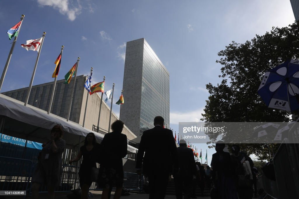 World Leaders Address The United Nations General Assembly : ニュース写真