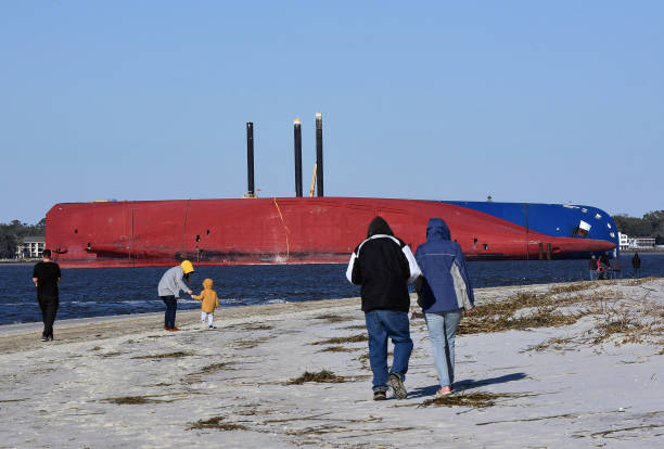 AL: Overturned Cargo Ship Soon To Be Removed From Georgia Waterway