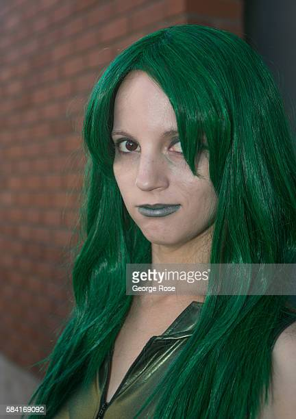 People walk the streets of downtown in their costumes as they head for the Convention Center and ComicCon 2016 on July 23 in San Diego California San...