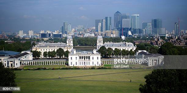 People walk through Greenwich Park on September 21 2016 in London England Today marks final day of summer as the autumn equinox arrives on Thursday...