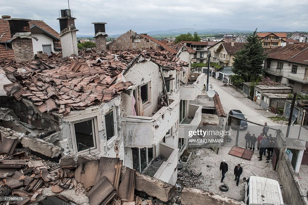 MACEDONIA-CRISIS-UNREST : News Photo