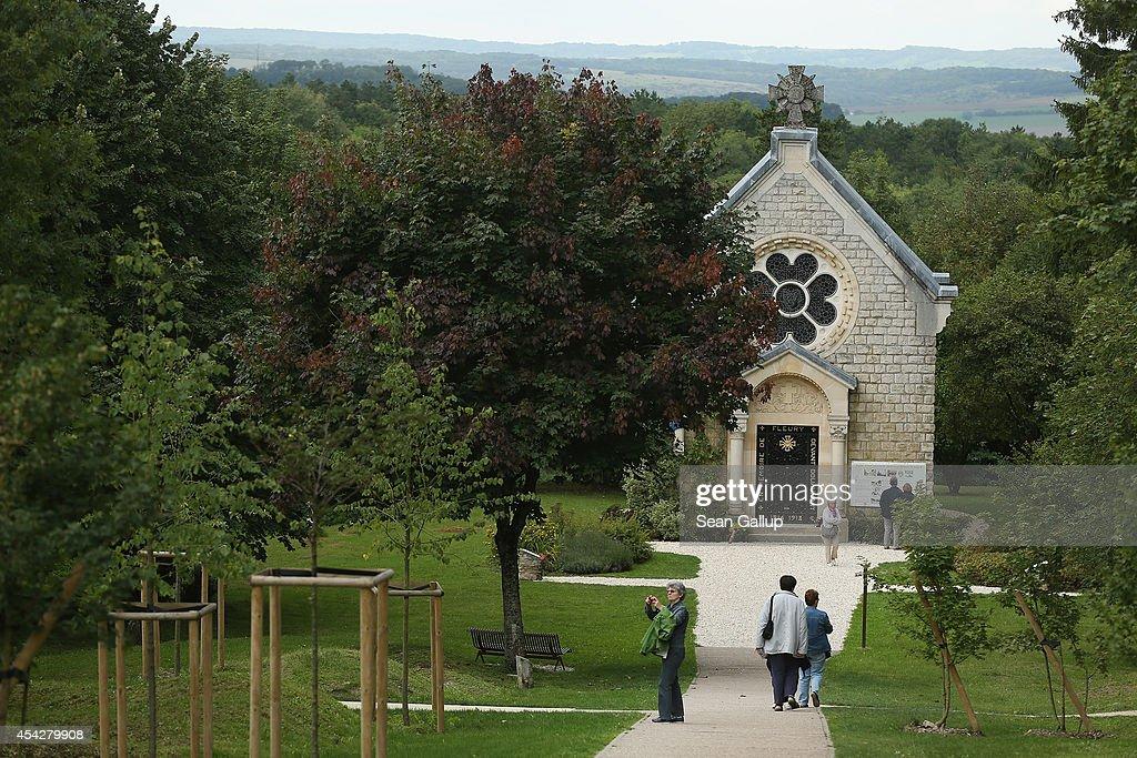 The Battlefields Of Verdun : ニュース写真