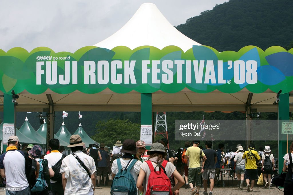 Fuji Rock Festival Day 2 : News Photo