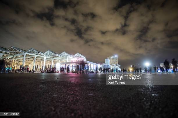 People walking between stages during day 4 of Primavera Sound 2017 on June 3 2017 in Barcelona Spain