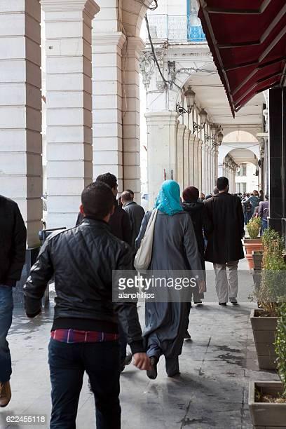 People walking in Algiers - Algeria