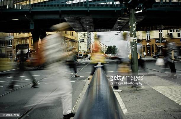 People walking on street, Berlin