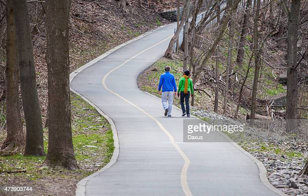 people walking - london ontario stock photos and pictures