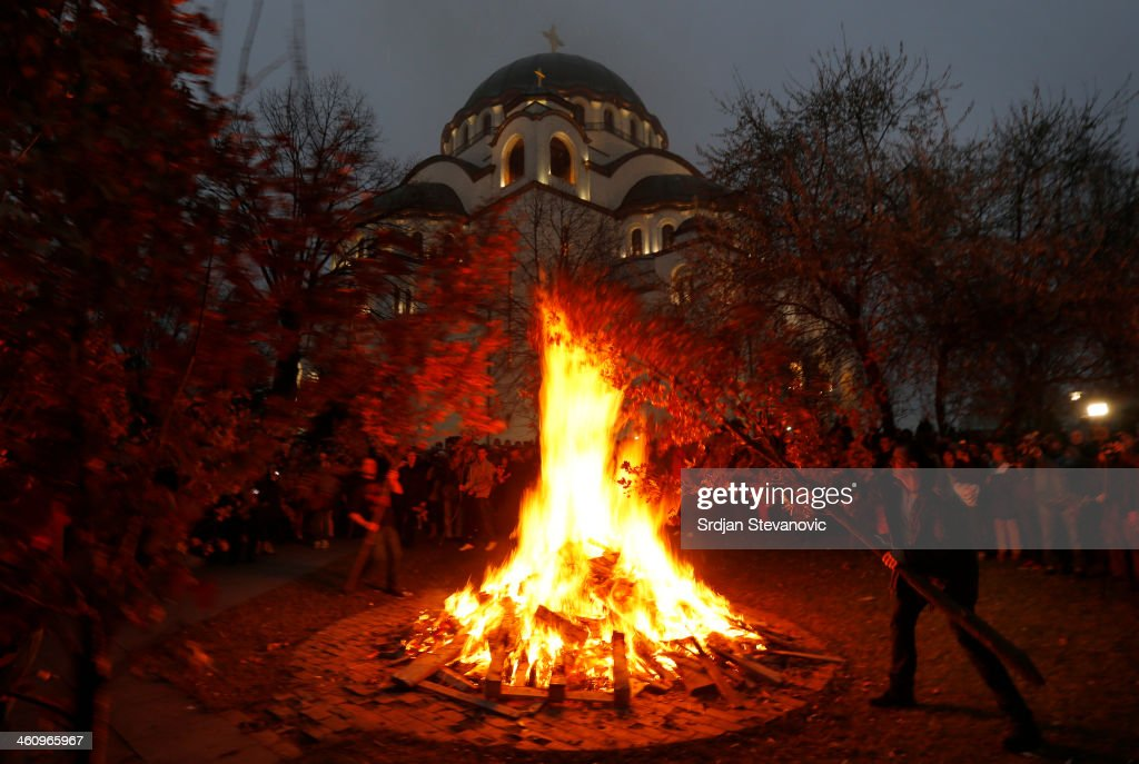 Christmas Day Is Celebrated By Orthodox Christians Around The World : News Photo