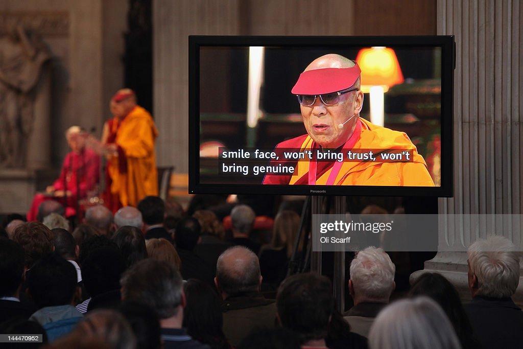 The Dalai Lama Visits The UK : News Photo