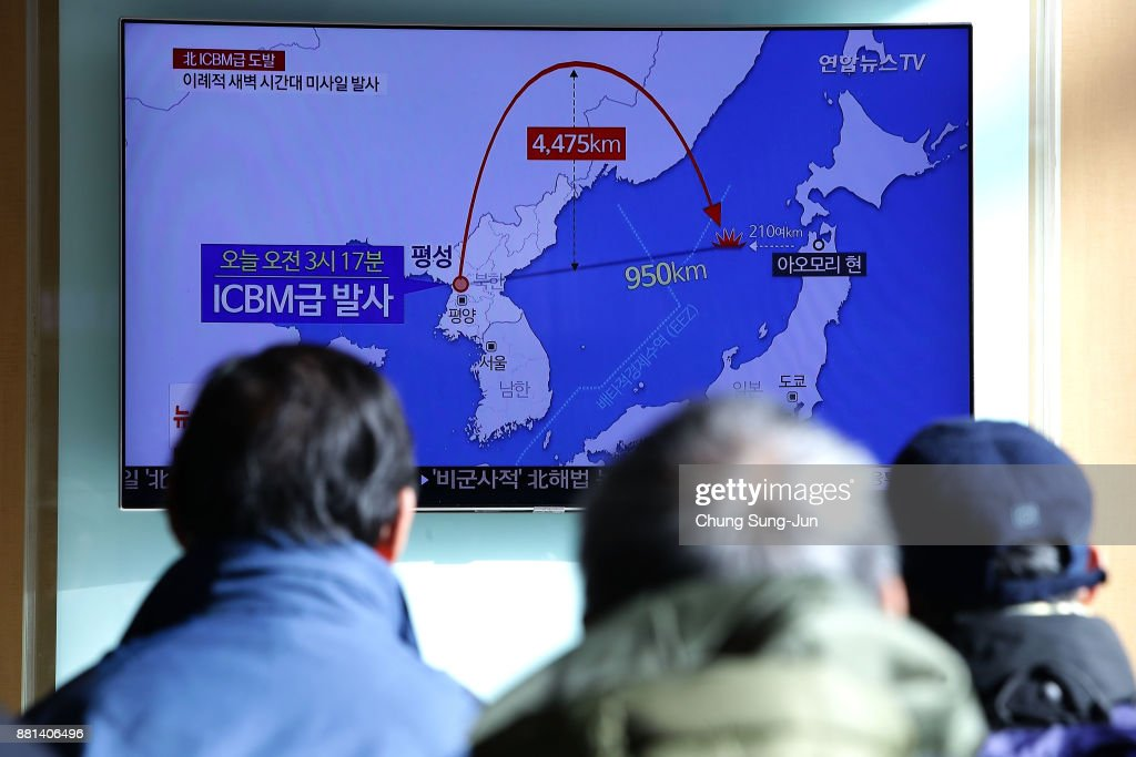 South Korea Reacts To North's Missile Launch : News Photo