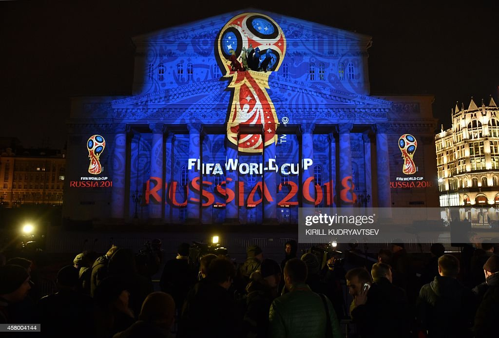 RUSSIA-FBL-WC-2018-RUS-FIFA : News Photo