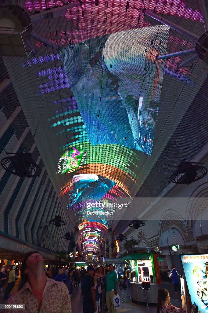 Avicii Tribute At Fremont Street Experience