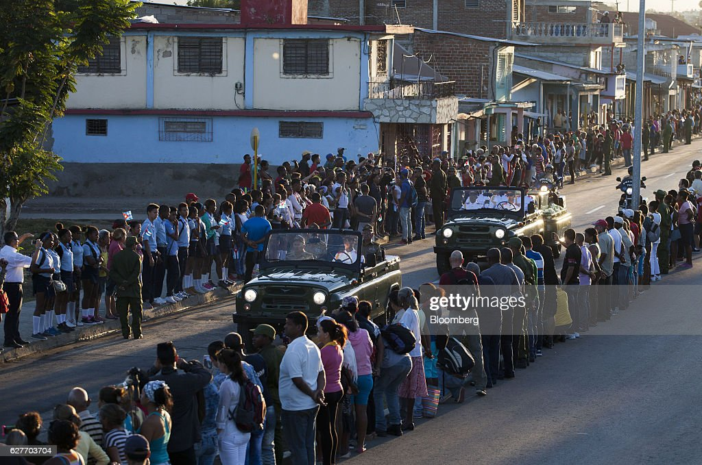Former Communist Leader Fidel Castro Laid to Rest in East Cuba : News Photo