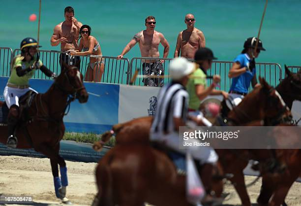 People Watch As Women Polo Players Play During The La Martina South Beach Womens Cup