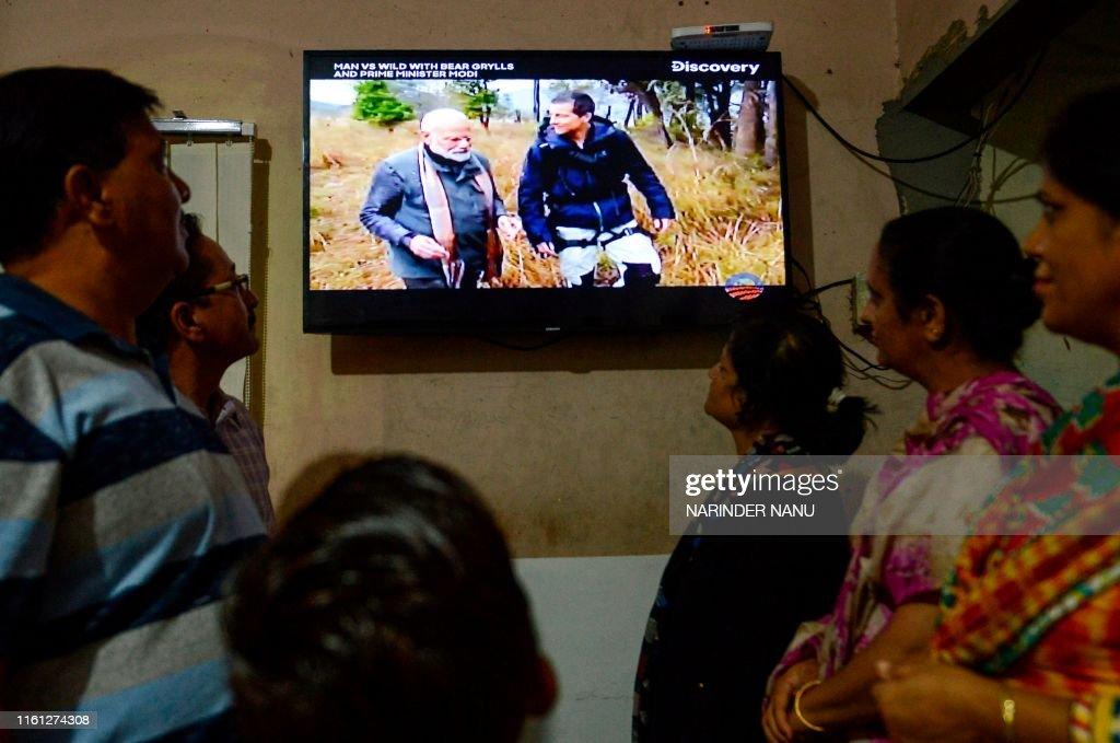 INDIA-ENTERTAINMENT-MODI : News Photo