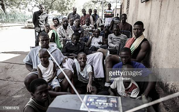 CONTENT] People watch the Africa Cup of Nations Semi Finals match between Mali and Nigeria in Bamako Mali 06 February 2013 Due to a city ordnance...