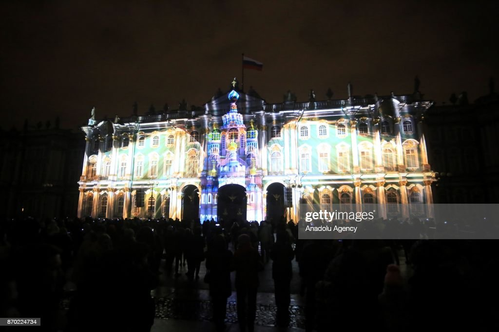 Festival Of Lights In Saint Petersburg Pictures Getty Images