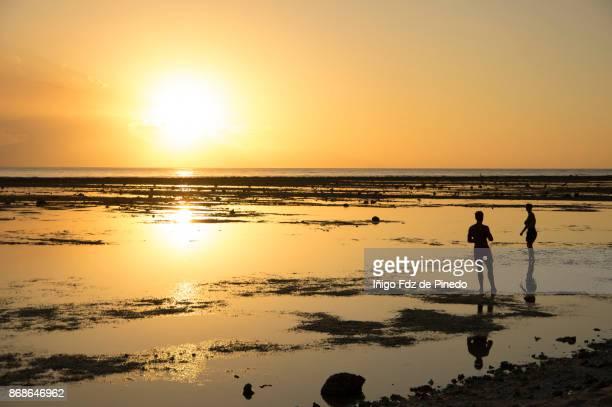 People watching the sunset in Gili Trawangan - Lombok - Indonesia