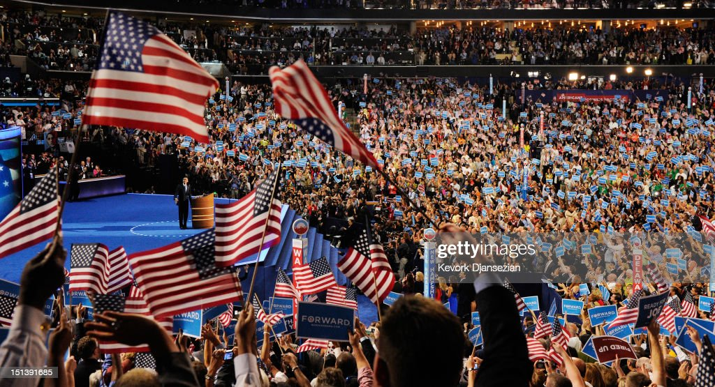 Obama Accepts Nomination On Final Day Of Democratic National Convention : News Photo