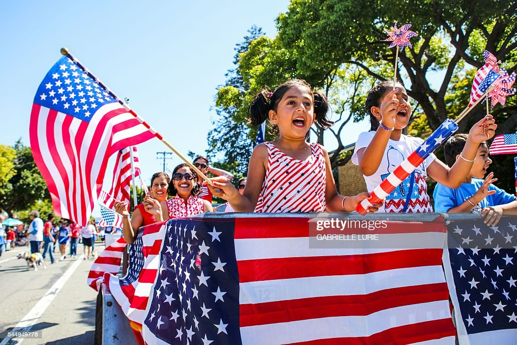 US-HOLIDAY-INDEPENDENCE-JULY 4TH : News Photo
