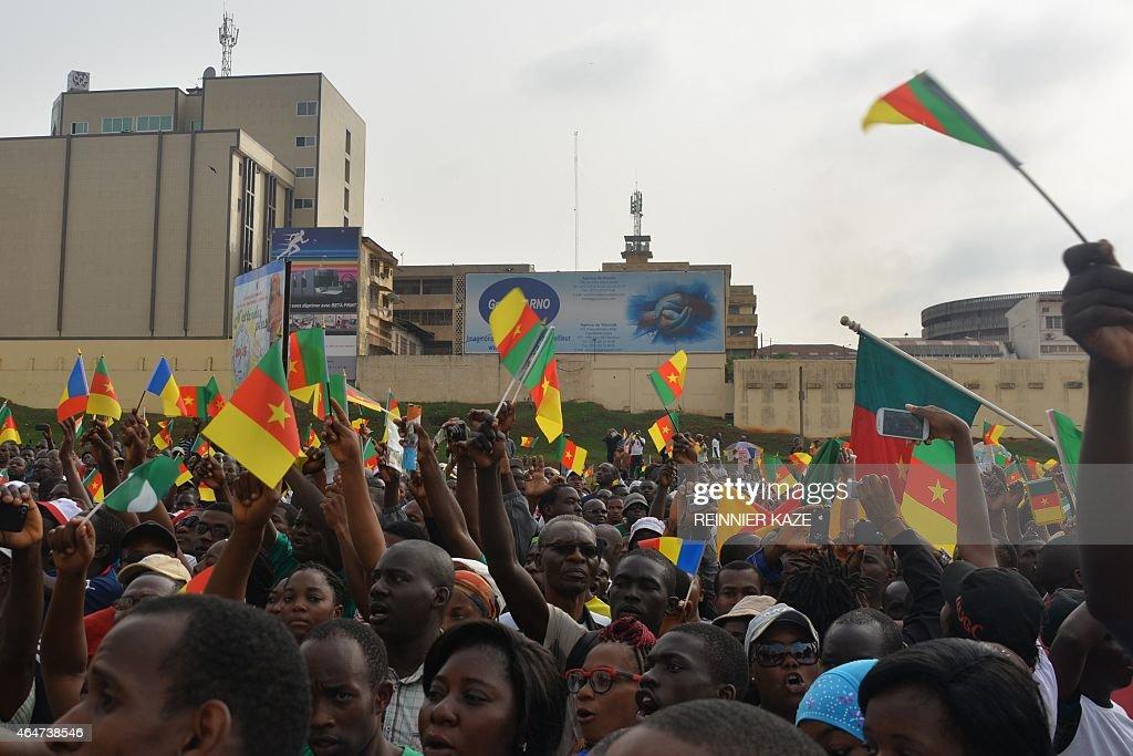 CAMEROON-NIGERIA-ISLAMISTS-UNREST-DEMO : Nachrichtenfoto